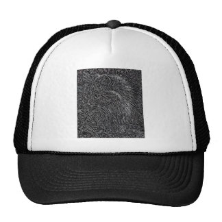 Cat Stained Glass Style Trucker Hat