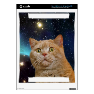 Cat staring at the universe xbox 360 skins