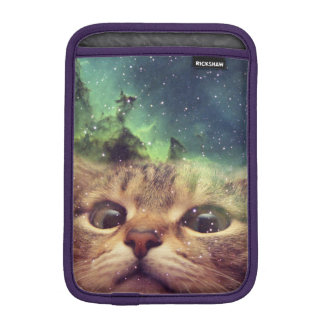 Cat Staring into Space iPad Mini Sleeve
