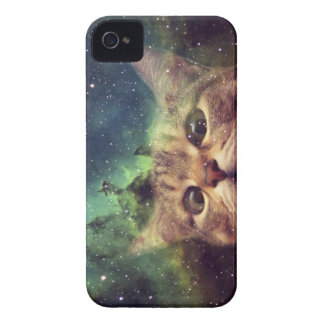Cat Staring into Space iPhone 4 Case-Mate Case