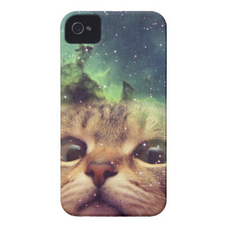 Cat Staring into Space iPhone 4 Cover