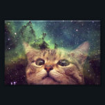 "Cat Staring into Space Photo Print<br><div class=""desc"">cat , cats , pussy , space , astronaut , feline , meow , &quot;space cat&quot; , &quot;cats in space&quot; , &quot;cat in space&quot; , orange , sky , meme , galaxy , puppy , funny , animal , cosmos , cute , pet , kitten , universe , &quot;funny cat&quot;...</div>"