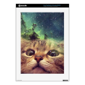 Cat Staring into Space PS3 Console Skins