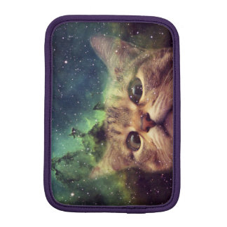 Cat Staring into Space Sleeve For iPad Mini