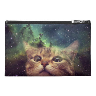 Cat Staring into Space Travel Accessory Bag