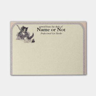 Cat Stationery - Good for Something- Post It Post-it® Notes