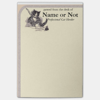 Cat Stationery -Large Size- Post It Post-it® Notes