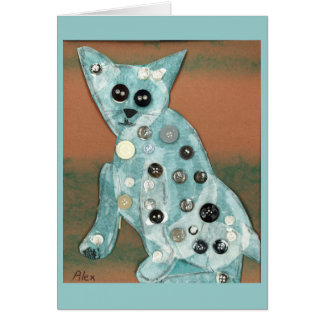 Cat Stationery Note Card