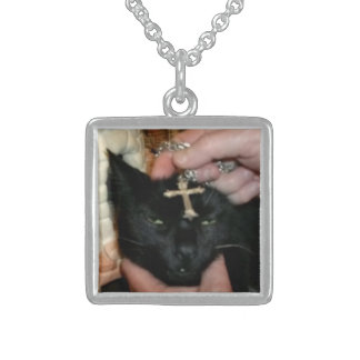 Cat! Sterling Silver Necklace