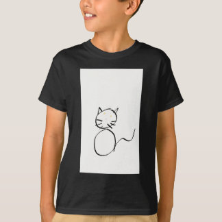 Cat sting man T-Shirt