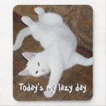 Cat Stretch - Mousepad