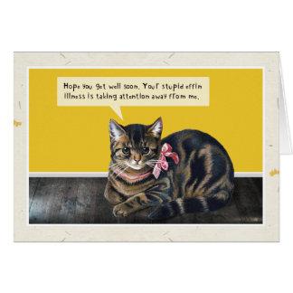 "Cat ""Stupid Illness"" Cards"