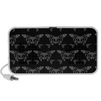 Cat & Sturg Bones - Gray Laptop Speakers