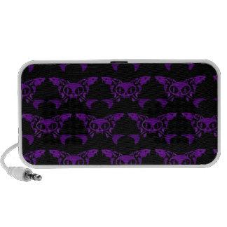 Cat & Sturg Bones - Purple iPhone Speakers