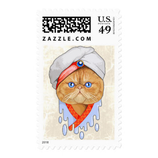 cat Sultan Stamps
