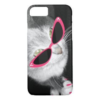 Cat Sunglasses i Phone 5 Case