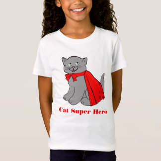 Cat Super Hero T-shirt