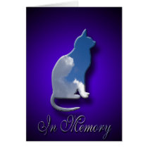 Cat Sympathy Card | Loss of Pet Cat