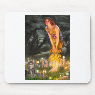 CAT (Tabby1) - MidEve Mouse Pad