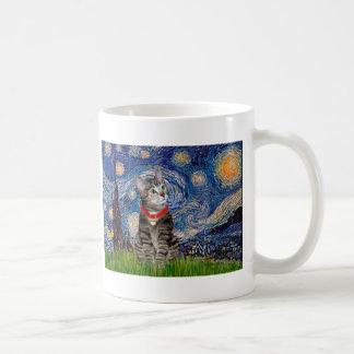 CAT (Tabby2) - Starry Night Coffee Mug