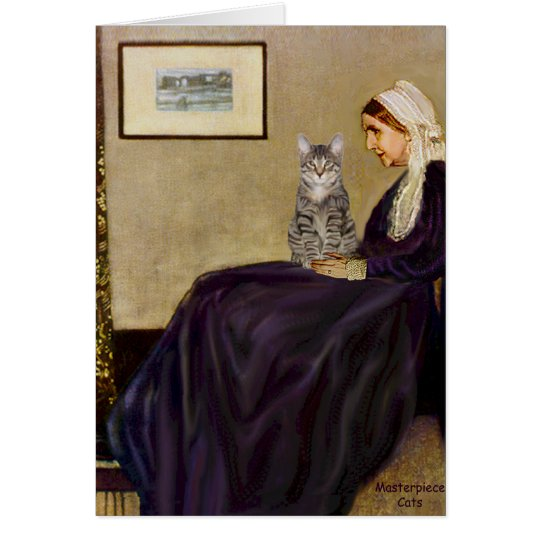 CAT (Tabby 1) - Whistlers Mother Card
