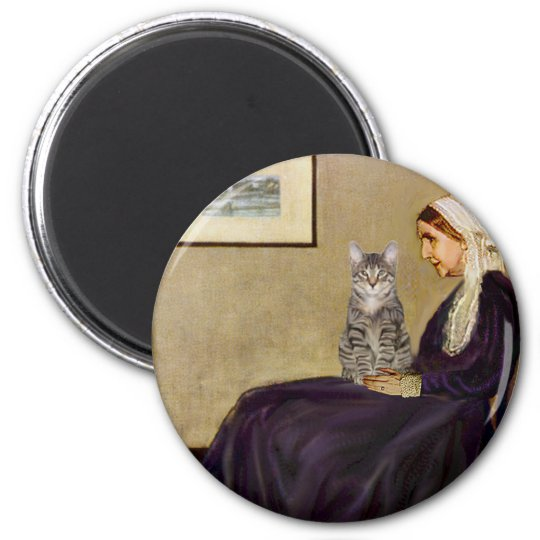 CAT (Tabby 1) - Whistlers Mother Magnet
