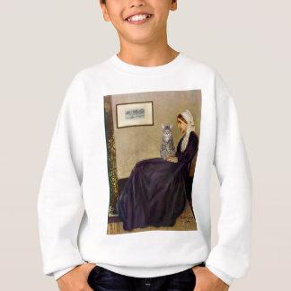 CAT (Tabby 1) - Whistlers Mother Sweatshirt