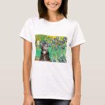 Cat (Tabby 2) - Irises T-Shirt
