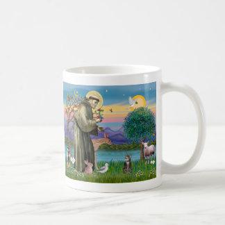 Cat (Tabby 2) - Saint Francis Mug
