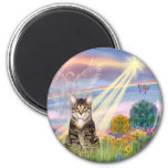 Cat (Tabby) - Cloud Angel Magnets