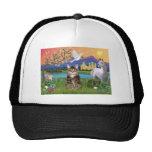 Cat -(Tabby) - Fantasy Land Trucker Hat