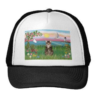 Cat (tabby) - Lighthouse Trucker Hat