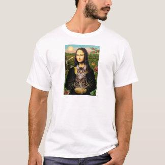 CAT (Tabby) - Mona Lisa Playera