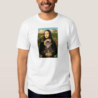 CAT (Tabby) - Mona Lisa T Shirt