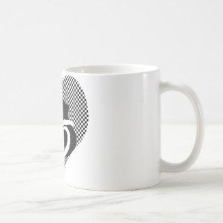 CAT tails - love black white Mug