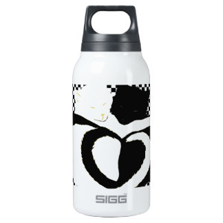 CAT tails - love black white SIGG Thermo 0.3L Insulated Bottle