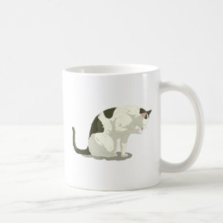 Cat Taking A Bath Coffee Mug