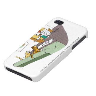Cat Talk iPhone 4/4S Cover
