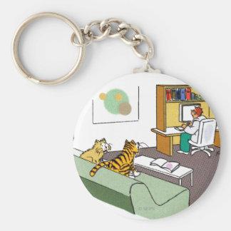 Cat Talk Keychains