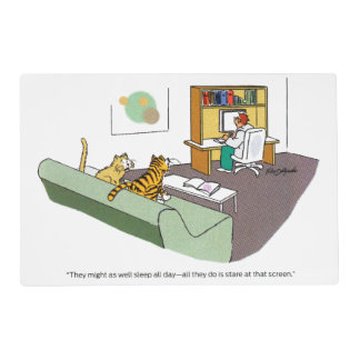 Cat Talk Placemat