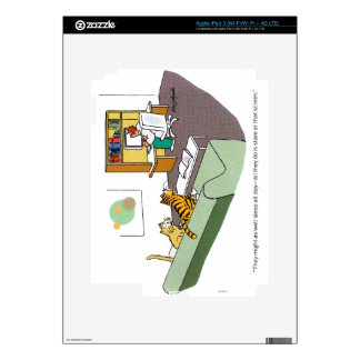 Cat Talk Skin For iPad 3