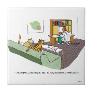 Cat Talk Tile