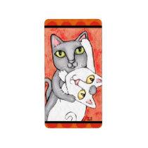 Cat Tango Dance Sticker / Labels
