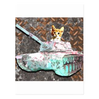 Cat Tank Postcard