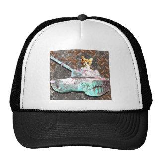 Cat Tank Trucker Hat