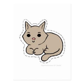 CAT TARJETA POSTAL