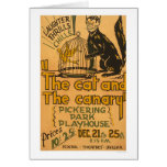 Cat & The Canary 1940 WPA Card