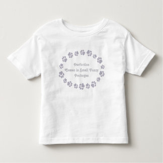 Cat-Themed Dark Lavender Girls' Shirt
