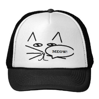 Cat themed Items Mesh Hats