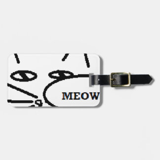 Cat themed Items Luggage Tag